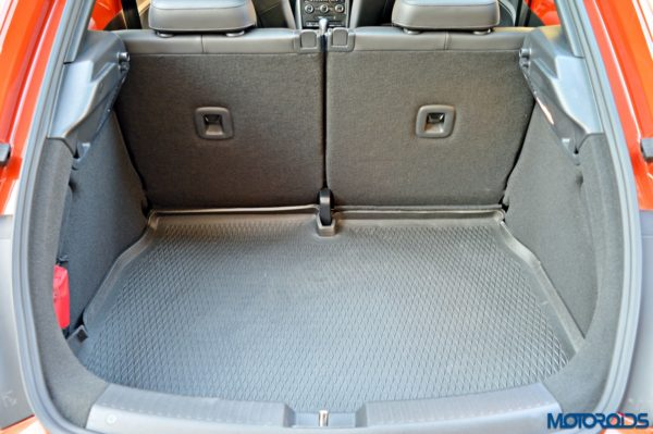 2016 Volkswagen Beetle Boot Space