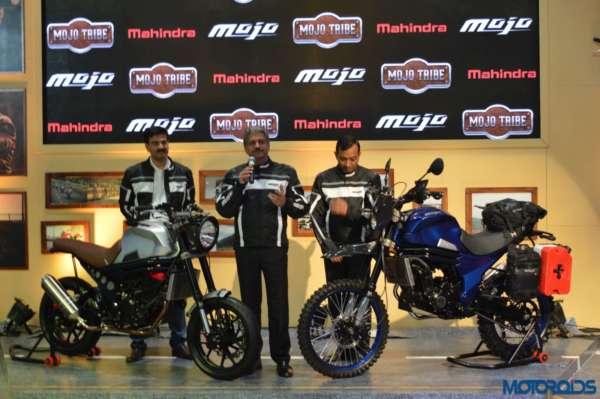 2016 Auto Expo Mahindra Mojo Adventure and Scrambler Concept (1)
