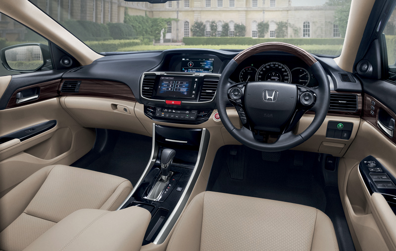 2016 Honda Accord dashboard