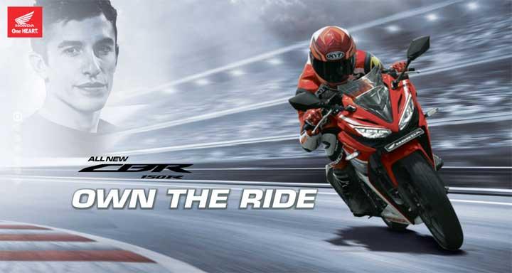 2016 Honda CBR 150R official