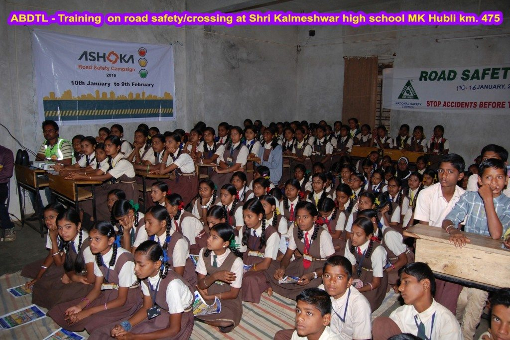 Ashoka Buildcon_School Camp_Road Safety Campaign 1