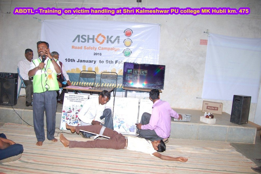 Ashoka Buildcon_School Camp_Road Safety Campaign 2