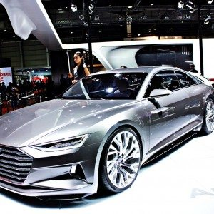 Auto Expo 2016 : Audi Prologue Concept, the future of the A6 and A8 checks in