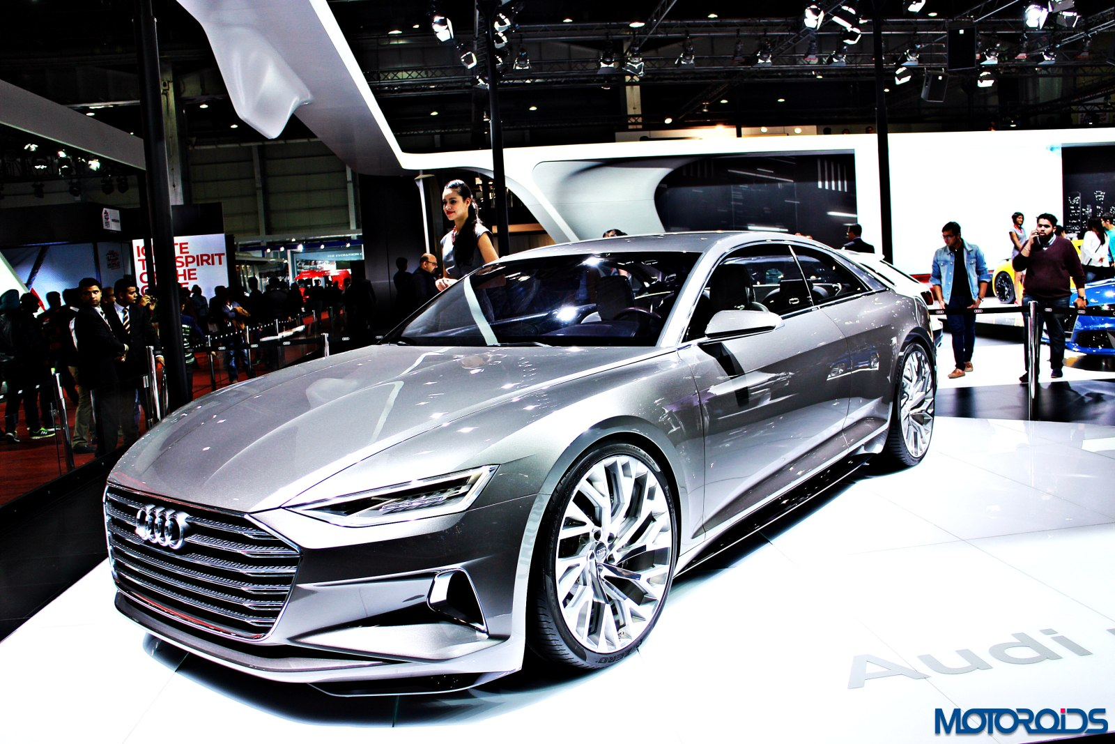 Audi Prologue concept Auto Expo 2016