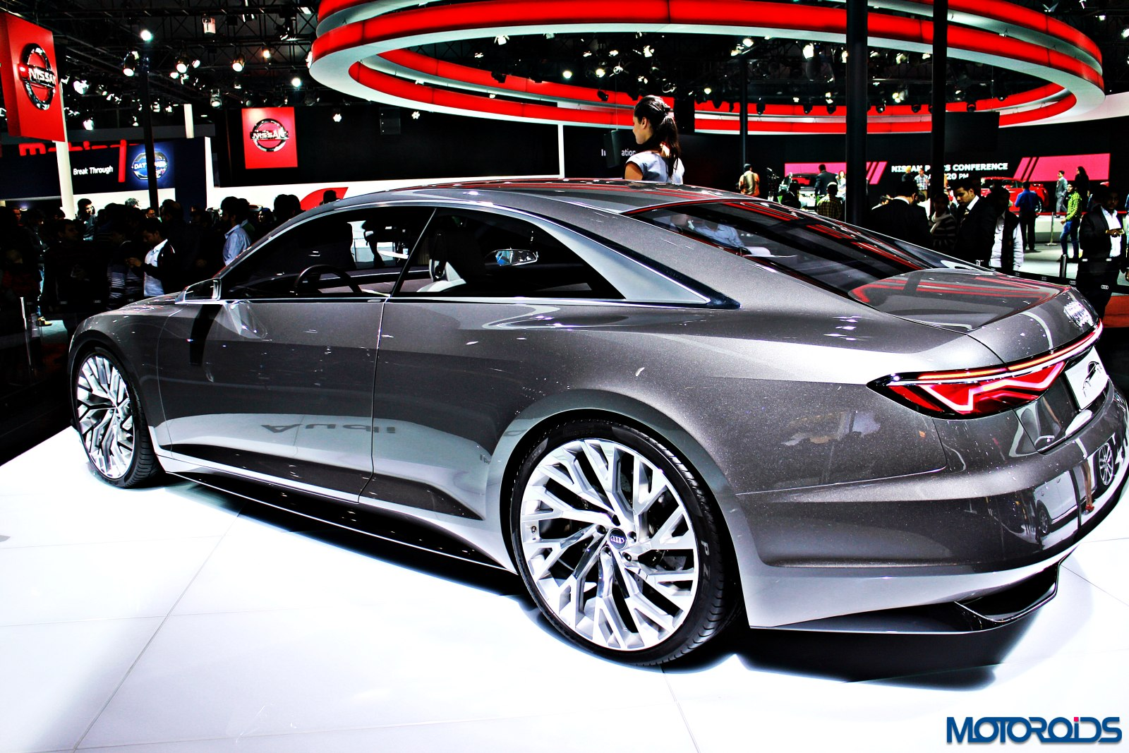 Audi Prologue concept Auto Expo 2016 (17)