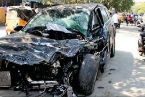 Drunk driver crashes high-end SUV into a motorcyclist, rider killed