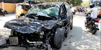 Audi Q7 Crash - Chennai