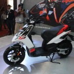 Auto Expo 2016 Aprilia SR 150 1 150x150 Auto Expo 2016: Aprilia SR 150 will be Indias first locally made Sport Scooterbike, to be launched in August 2016