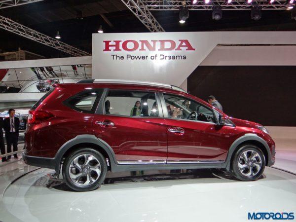 Auto Expo 2016 Honda BRV (1)