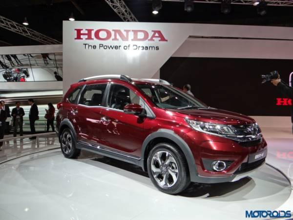 Auto Expo 2016 Honda BRV (2)