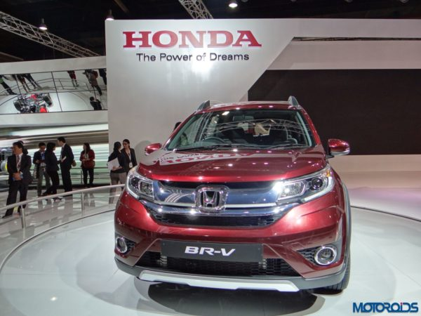 Auto Expo 2016 Honda BRV (3)