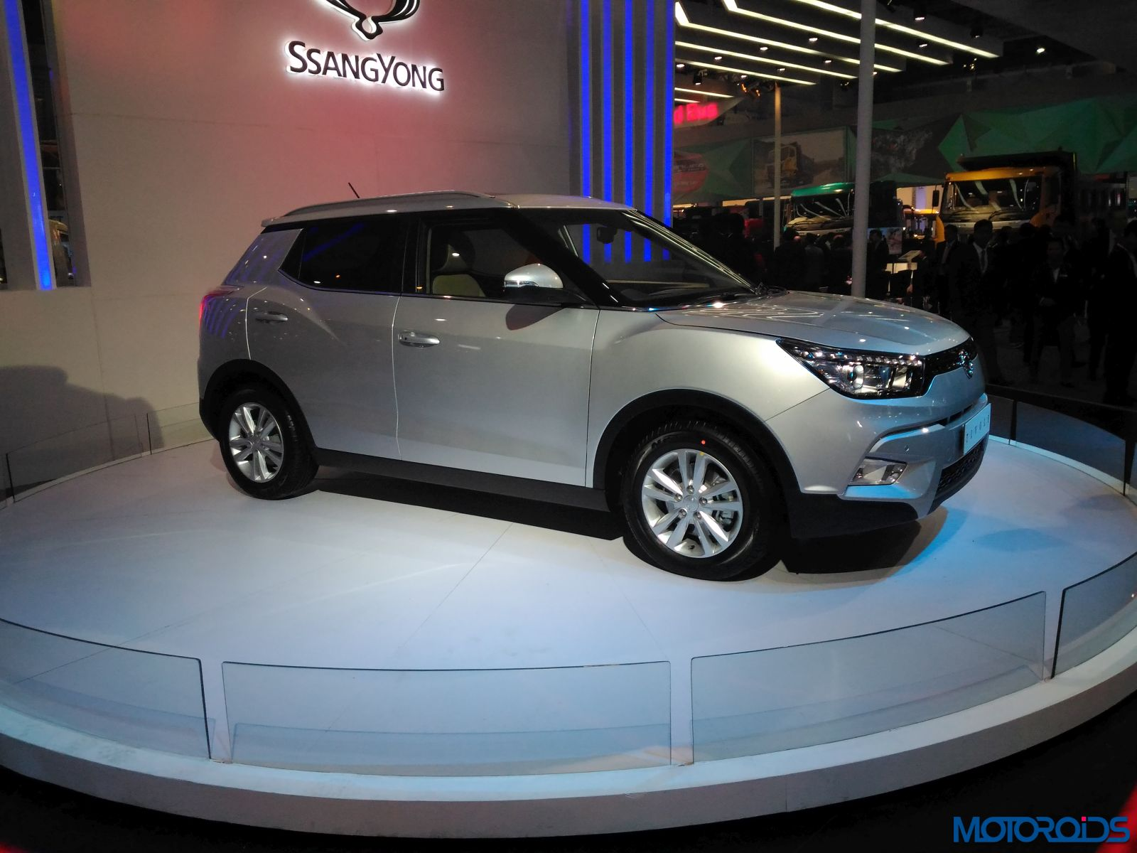 Auto Expo 2016 Launches Updates News Images: SPIED: Mahindra S201 Compact SUV Expected India Launch