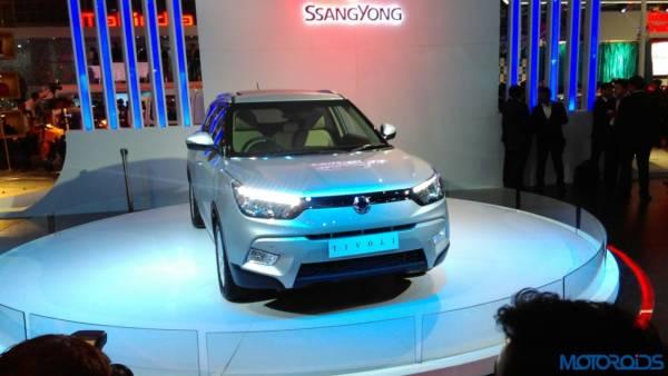 Auto Expo 2016 Ssangyong Tivoli (1)