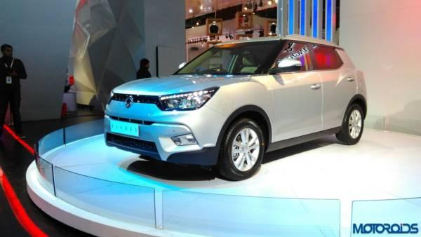 Auto Expo 2016 Ssangyong Tivoli (2)