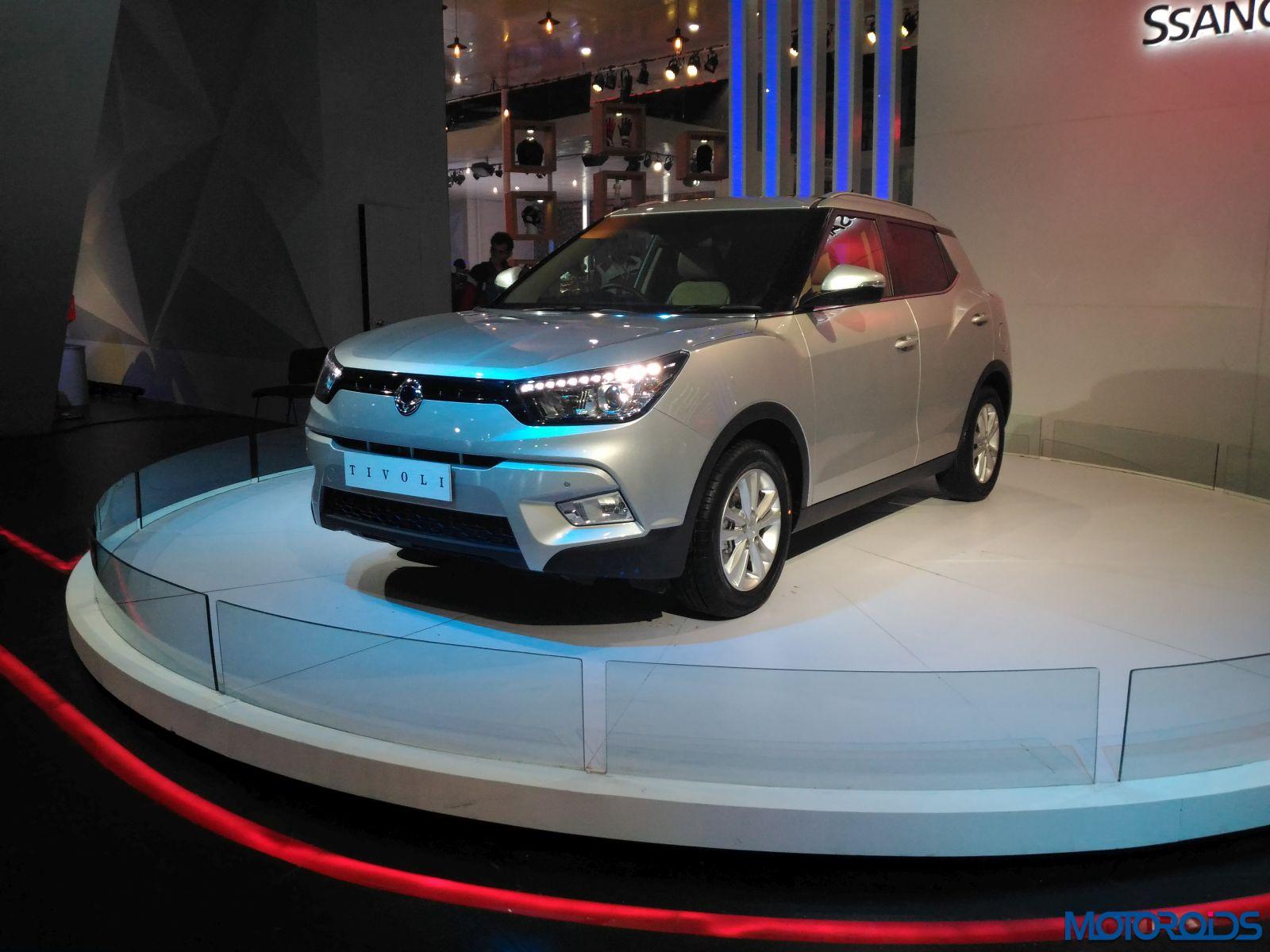 Auto Expo 2016 Ssangyong Tivoli (5)