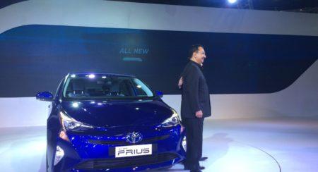 Auto Expo 2016 Toyota Prius