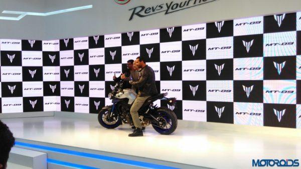 Auto Expo 2016 Yamaha MT 09 (1)