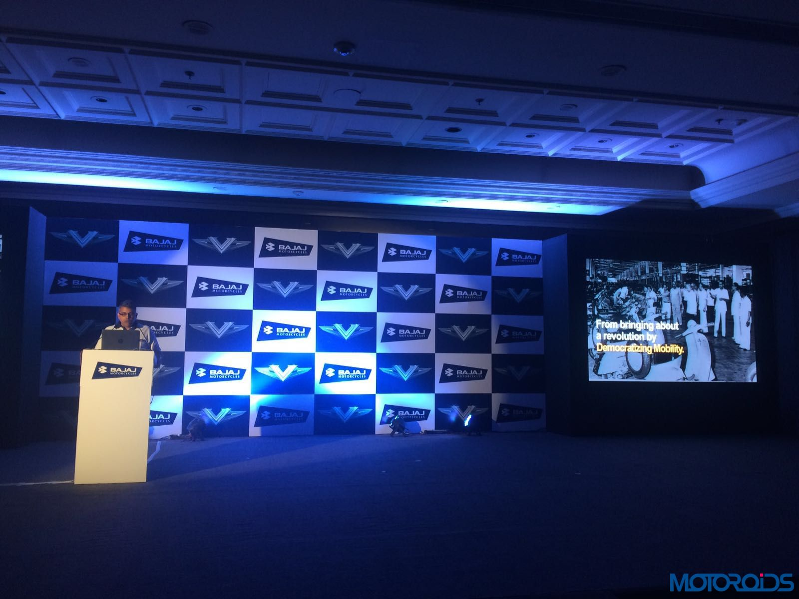 Bajaj V Launch