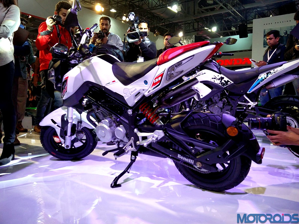Benelli TNT 135 spied testing in India for the first time