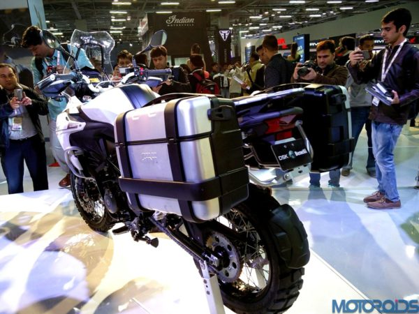 Benelli TRK 502 Auto Expo