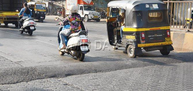 Biker killed in Mumbai - 1