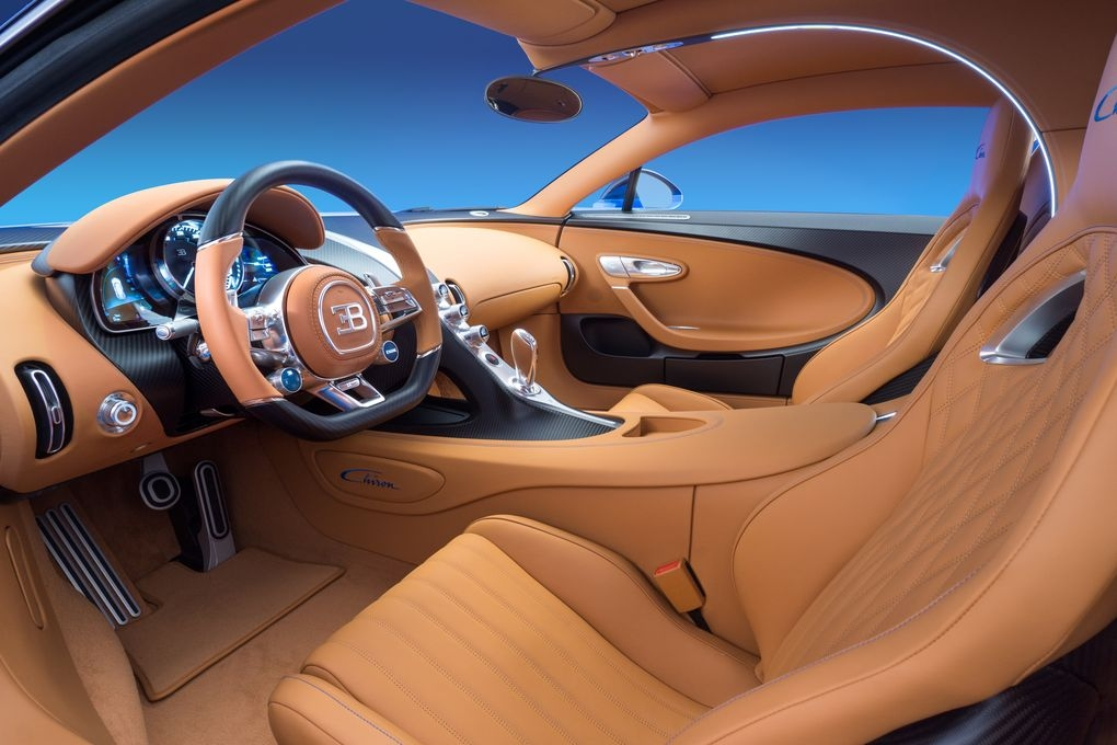 Bugatti Chiron Driver Side