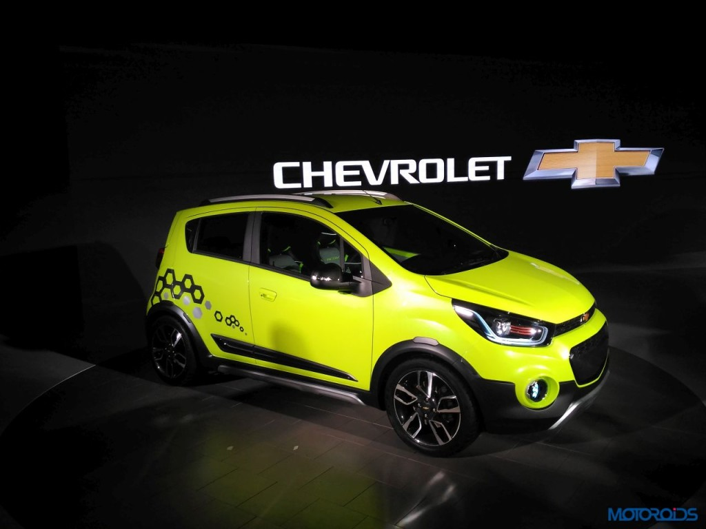 Updated Auto Expo 2016 Chevrolet Beat Activ And Essentia Sedan