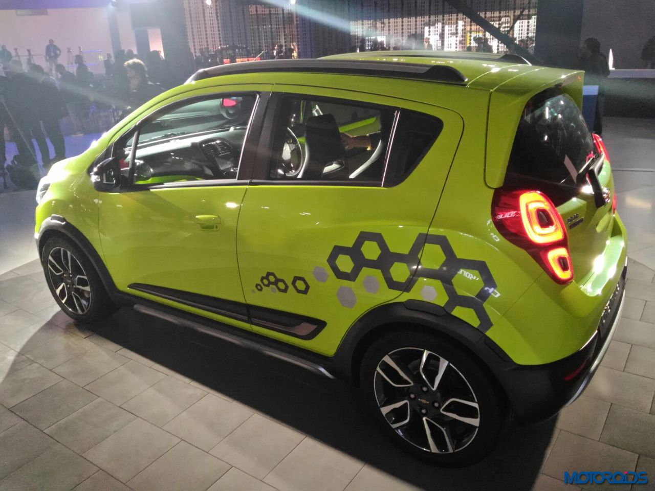 Chevrolet Beat Active interior exterior (5)