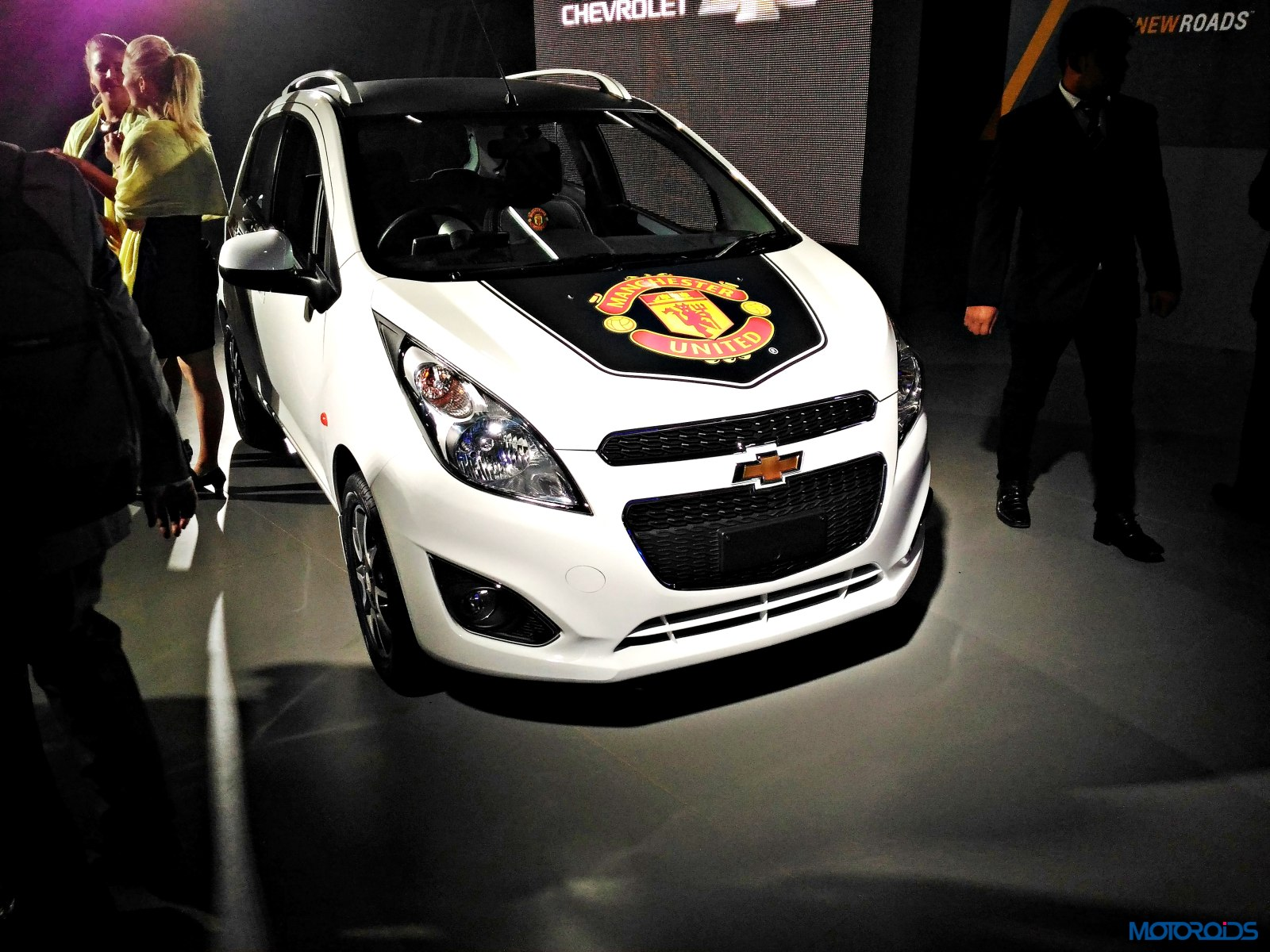 Chevrolet Beat Manchester United Auto Expo 2016