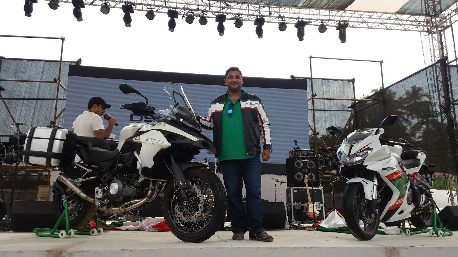 DSK Motowheels - Benelli at IBW 2016 (1)