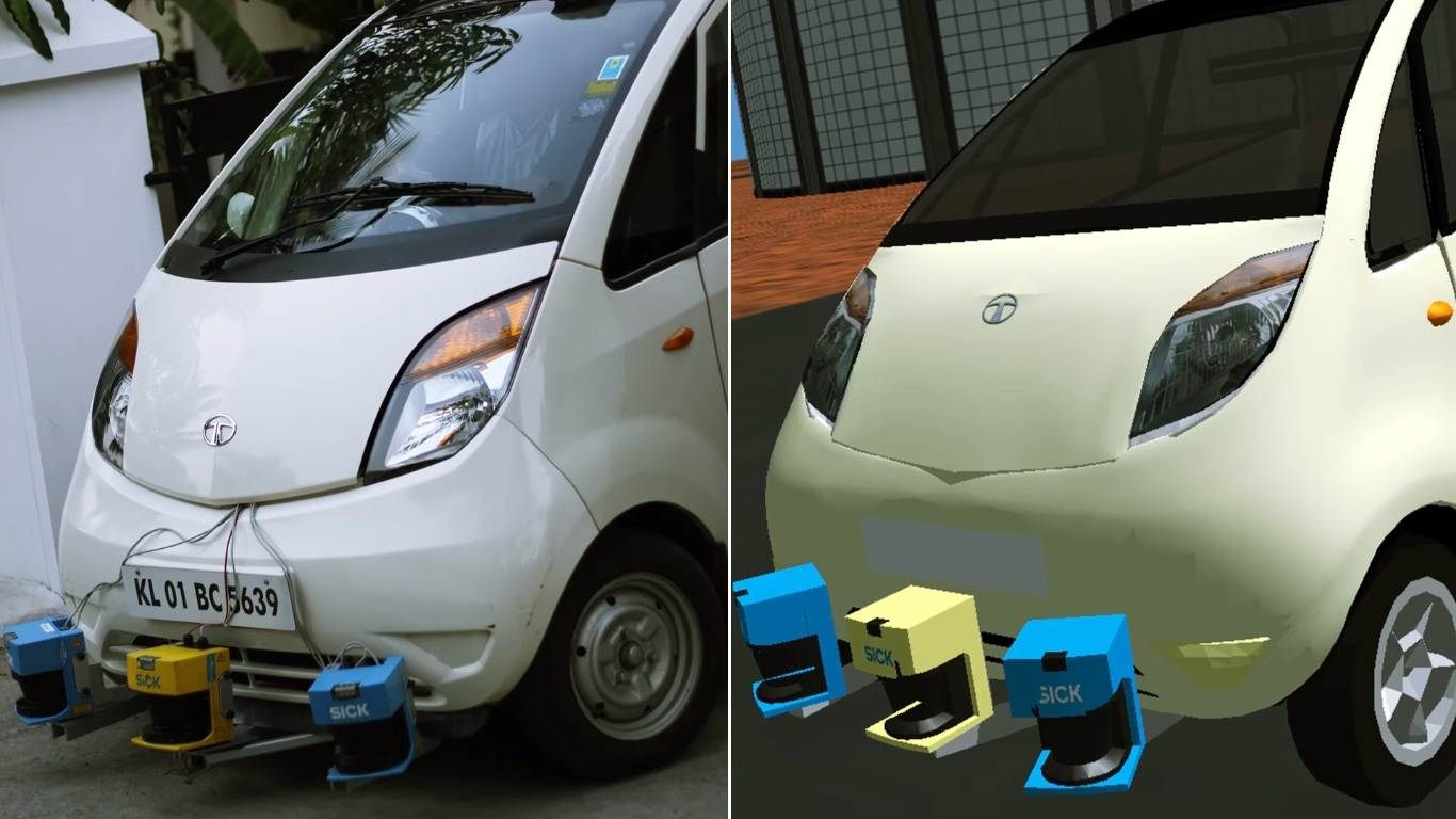 Self Driving Cab >> Video: Indian man builds driverless Tata Nano | Motoroids