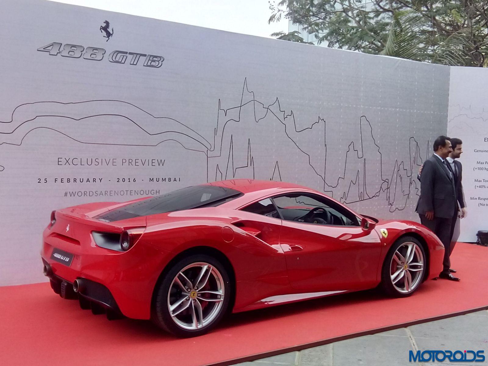 Ferrari 488 GTB mumbai launch (13)