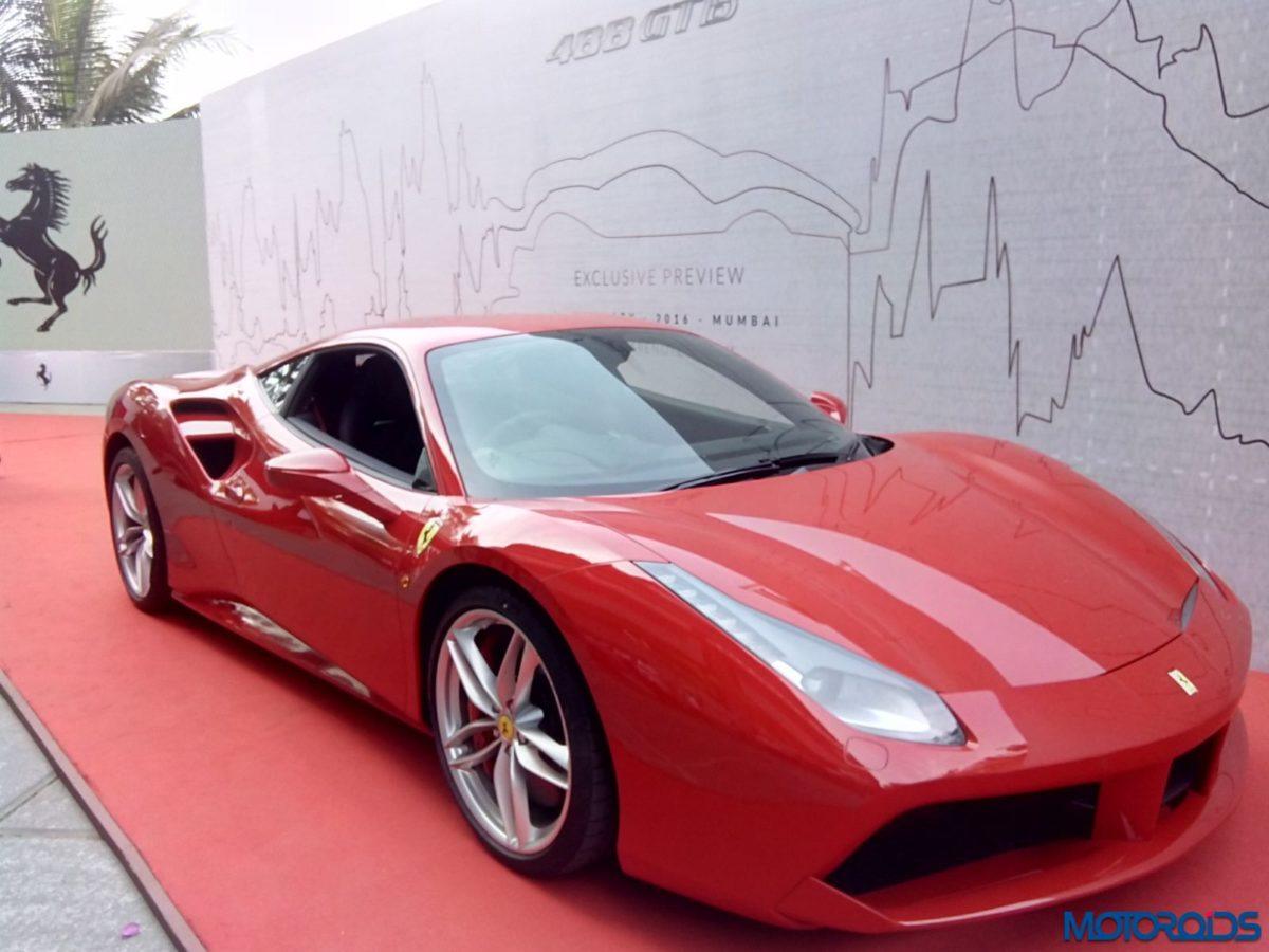 Ferrari 488 GTB mumbai launch (26)