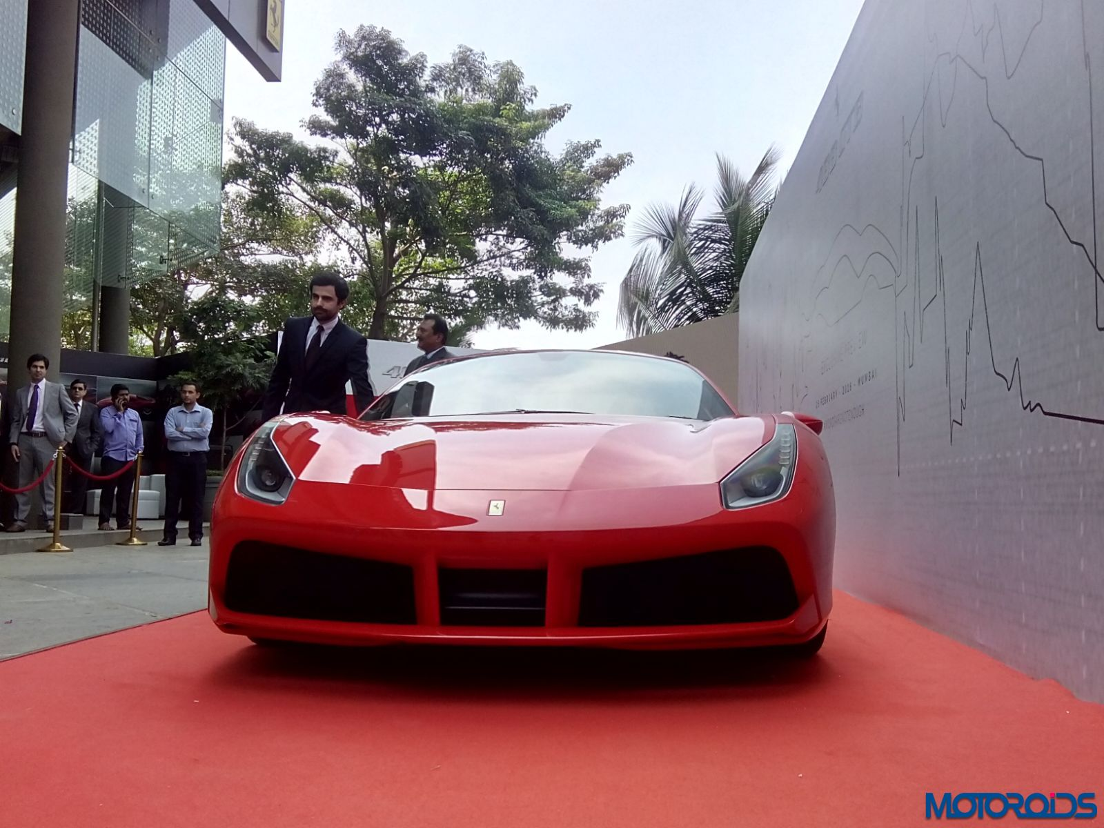 Ferrari 488 GTB mumbai launch (4)