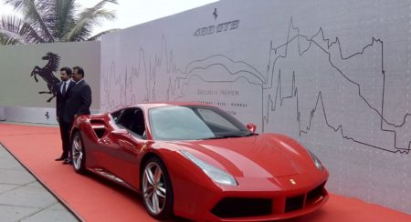 Ferrari 488 GTB mumbai launch (5)