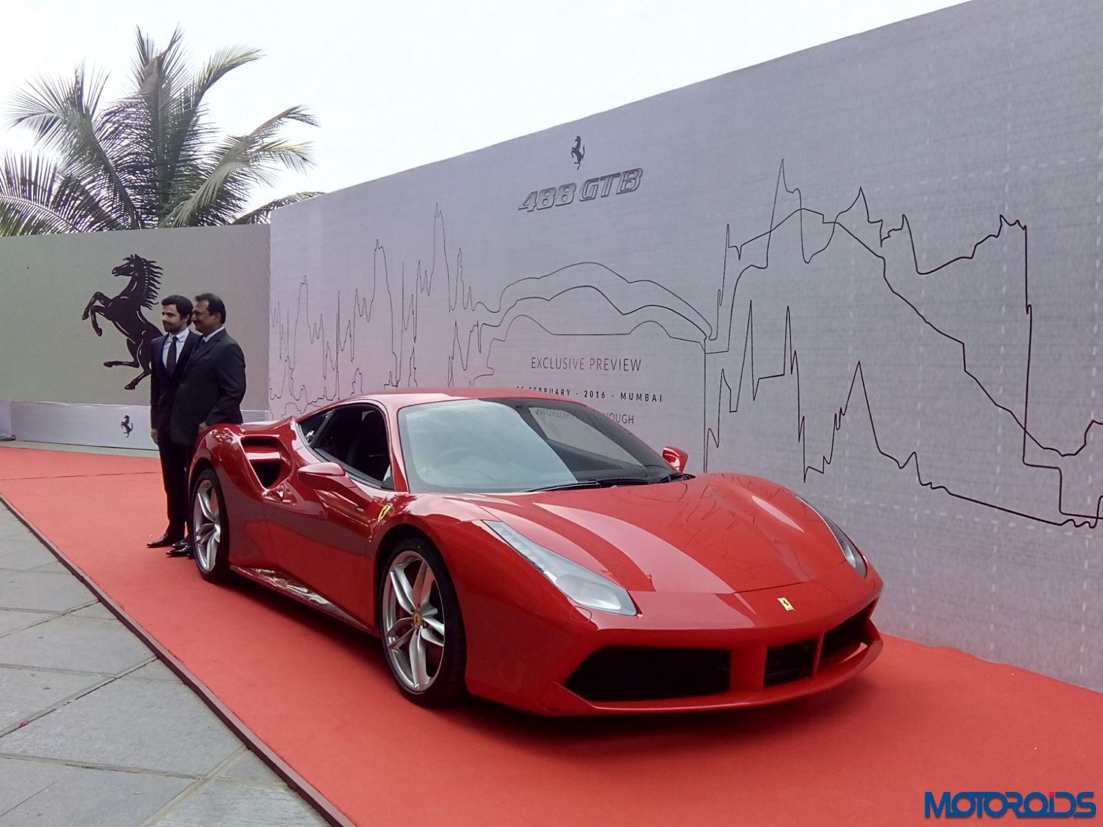 Ferrari 488 GTB mumbai launch (5)