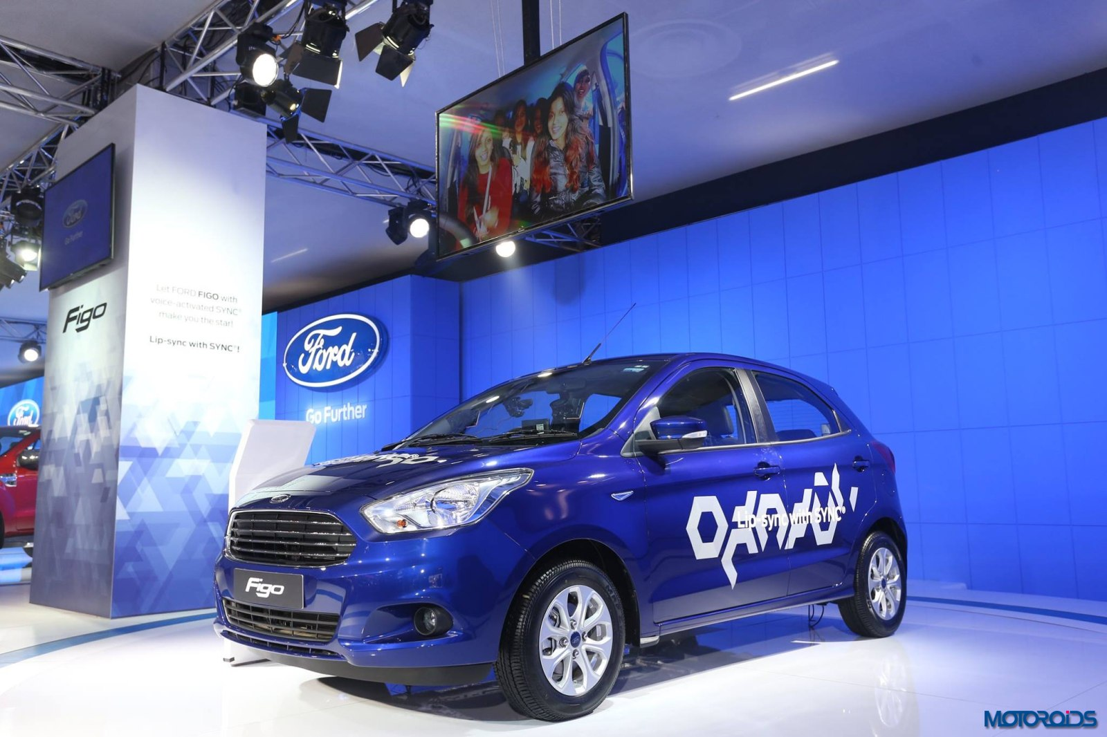 Ford Lip Sync with Sync Auto Expo 2016