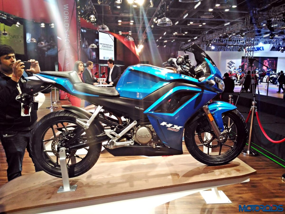Hero HX25 Auto Expo 2016 10