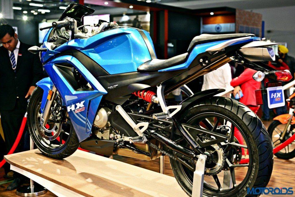 Hero HX250 - 2016 Auto Expo - New Images (2)