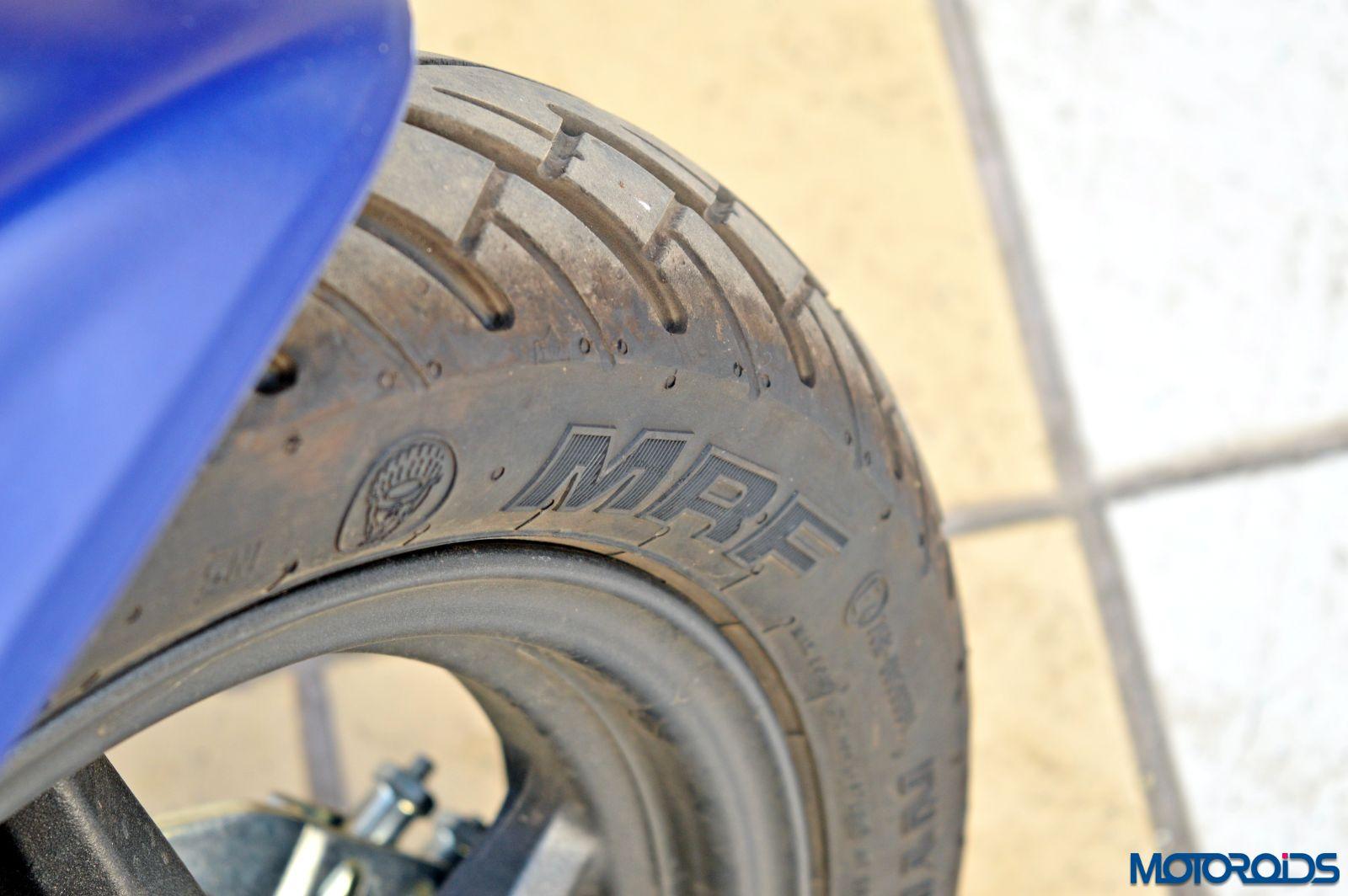 Hero Maestro Edge - Review - Details - Tyre (1)