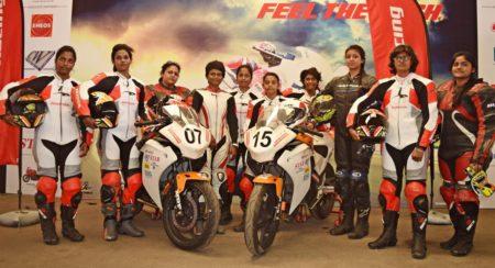 Honda All Ladies Race 2015 participants