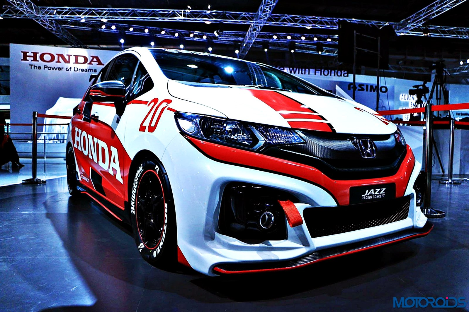 Honda Jazz Racing Concept Auto Expo 2016