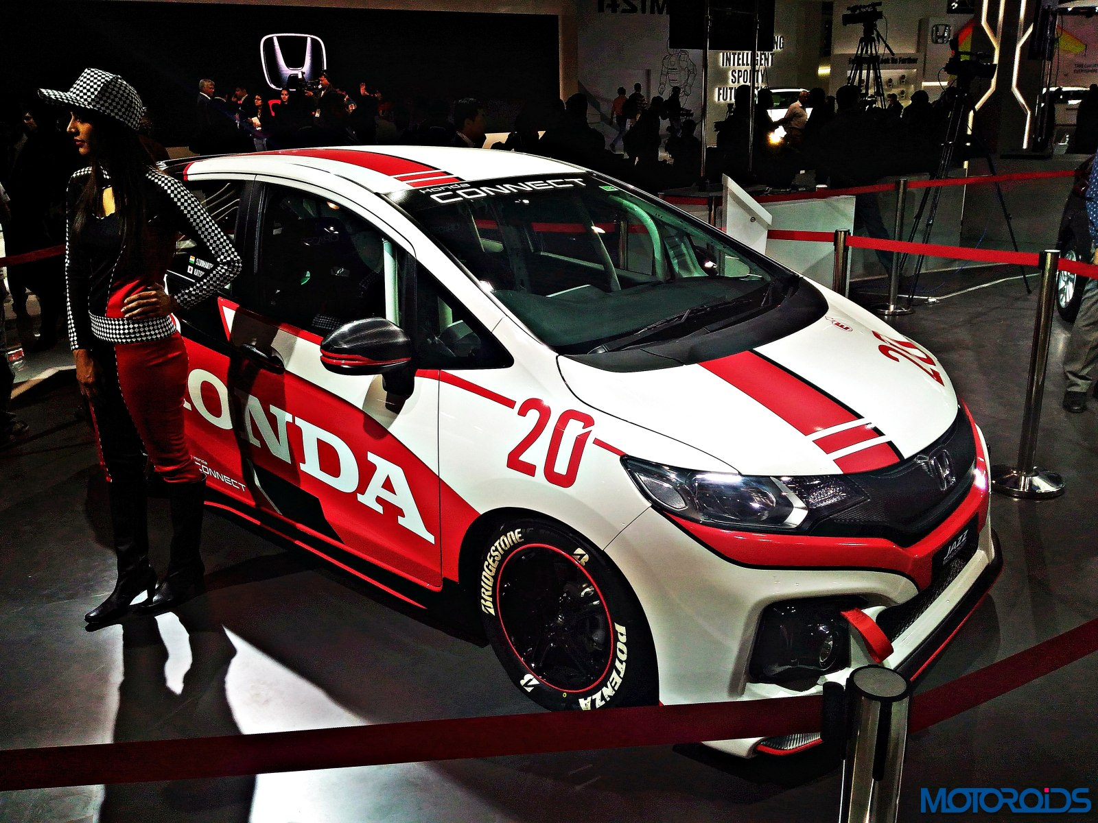 Honda Jazz Racing Concept Auto Expo 2016 (6)