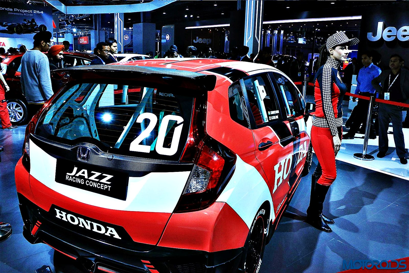 Honda Jazz Racing Concept Auto Expo 2016 (9)