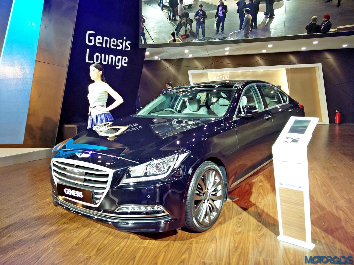 Auto Expo 2016 Hyundai Genesis Sedan Brings Korean Luxury To India