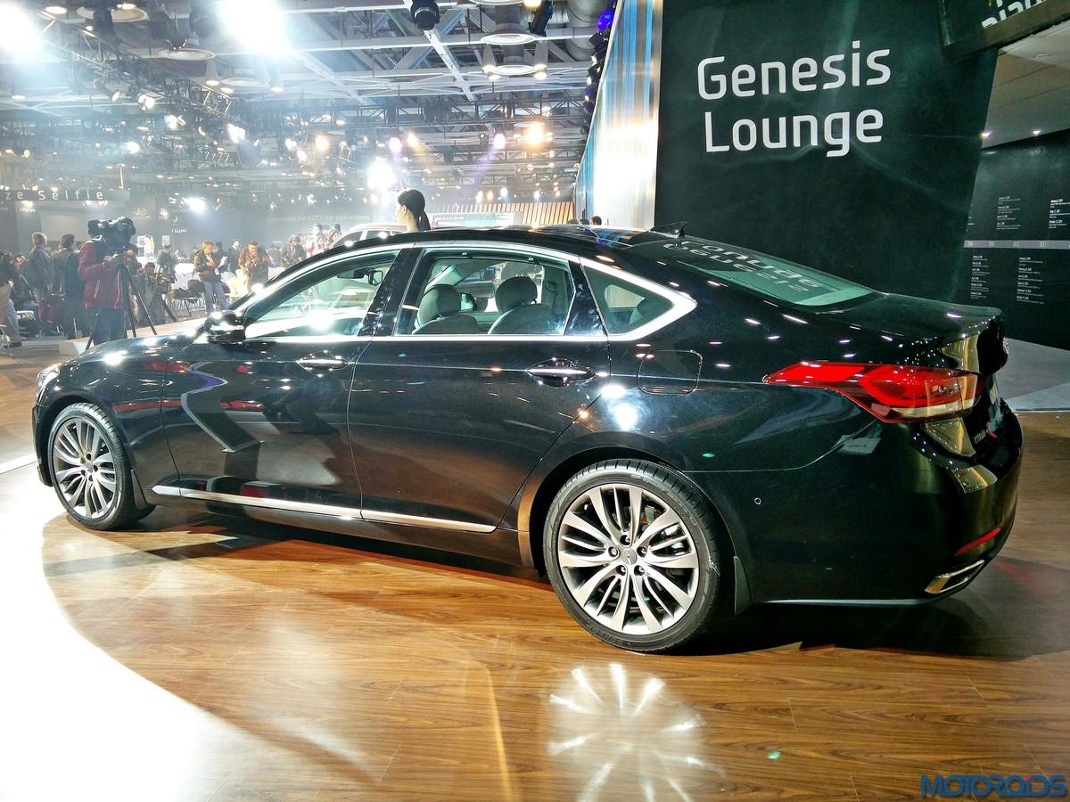 Auto Expo 2016 Hyundai Genesis sedan brings Korean luxury to