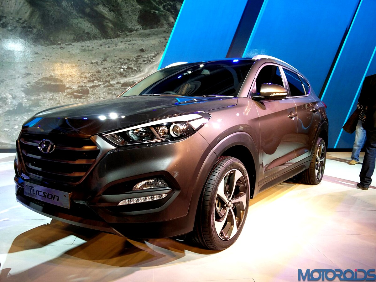 2016 hyundai tucson india launch confirmed for october 24. Black Bedroom Furniture Sets. Home Design Ideas