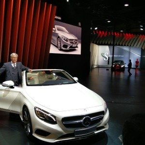 Auto Expo 2016: Mercedes Benz unveils S-Class Cabriolet, GLC among others
