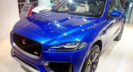 Auto Expo 2016: Jaguar F-PACE showcased in India for the first time