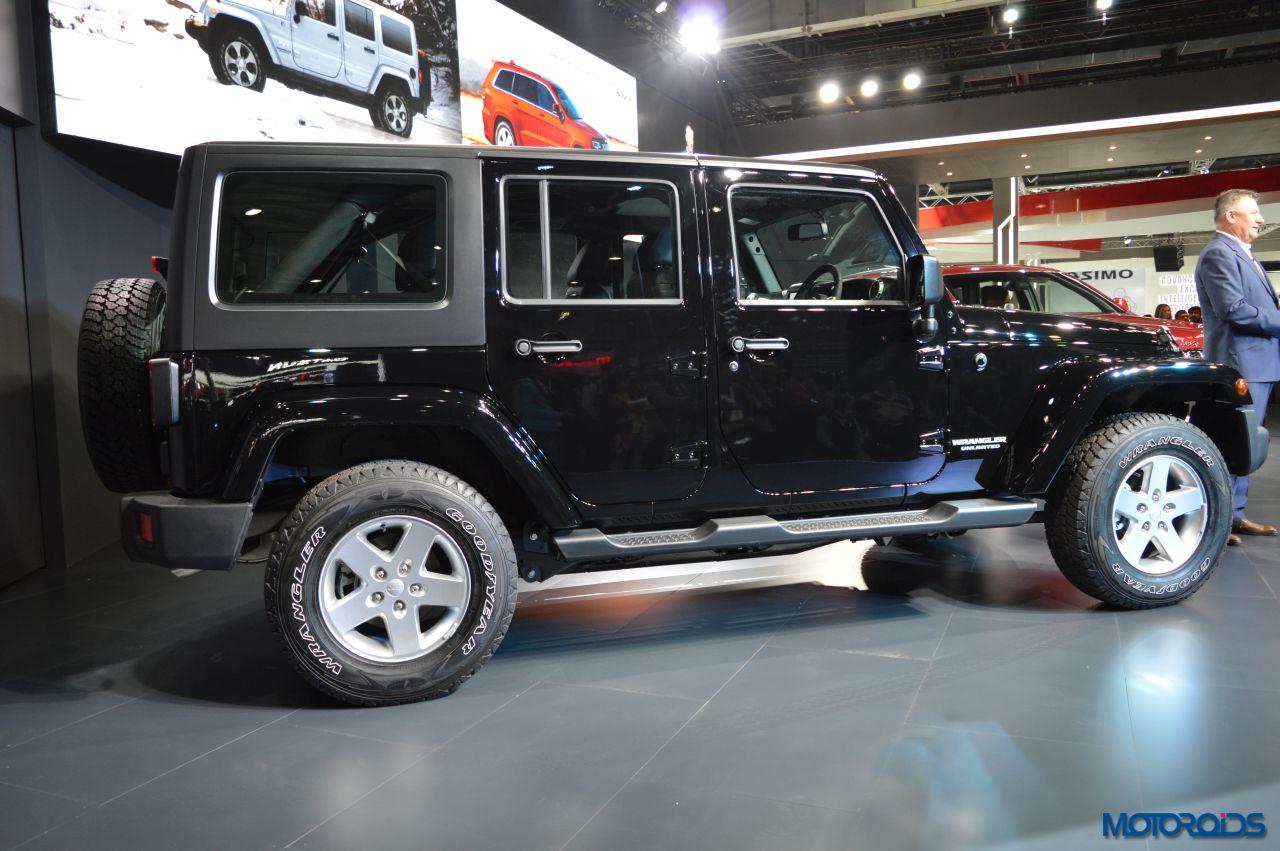 Auto Expo 2016 Jeep Wrangler Unlimited Grand Cherokee